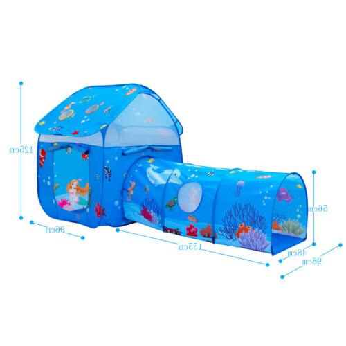 2 in Play Tent Outdoor tunnel girls