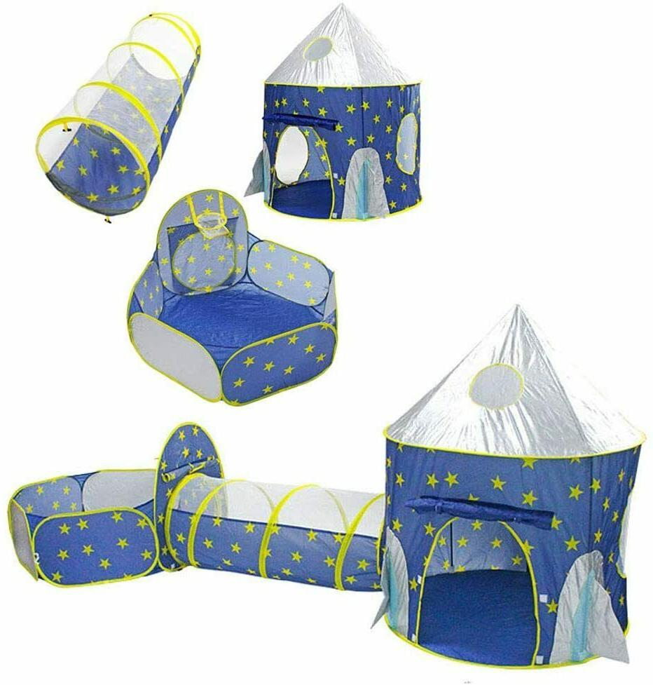 3 In Kids Play Pop Up Pit In/Outdoor Tent