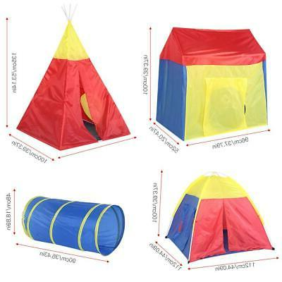 5 1 Toddler Tent Tunnel Indoor/Outdoor Playhouse