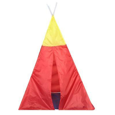 5 in Folding Toddler Kids Play Toy Tent Crawl Tunnel Indoor/Outdoor Playhouse