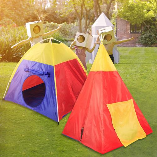 Portable Kids Play Toy Tent 7 Playhouse