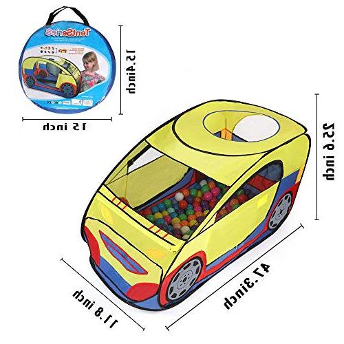 Anyshock Playhouses for Kids Outdoor and Car Play with Carrying Case a for Old
