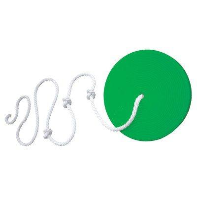 Gorilla Playsets Disc Swing With Rope Color: Green