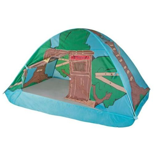 Pacific Play Tents 19790 Kids Tree House Bed Tent Playhouse