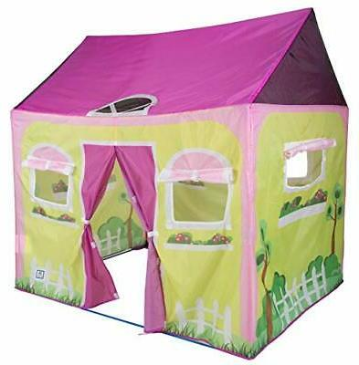 "Pacific Play Tents 60600 Cottage House Play Tent - 58"" x 48"""