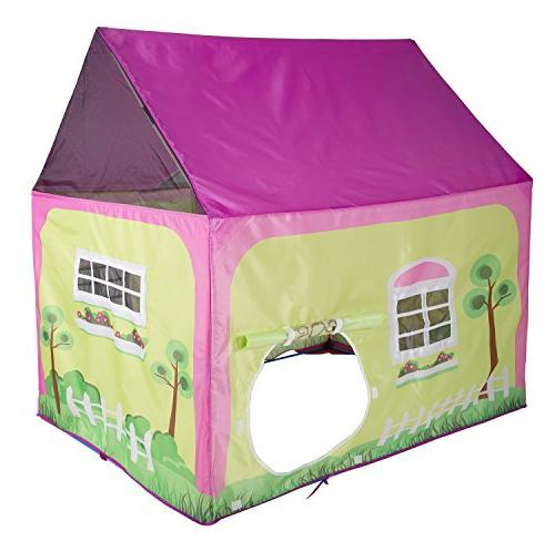"""Pacific Play Cottage Playhouse for Indoor Outdoor Fun x 40"""" x 50"""""""