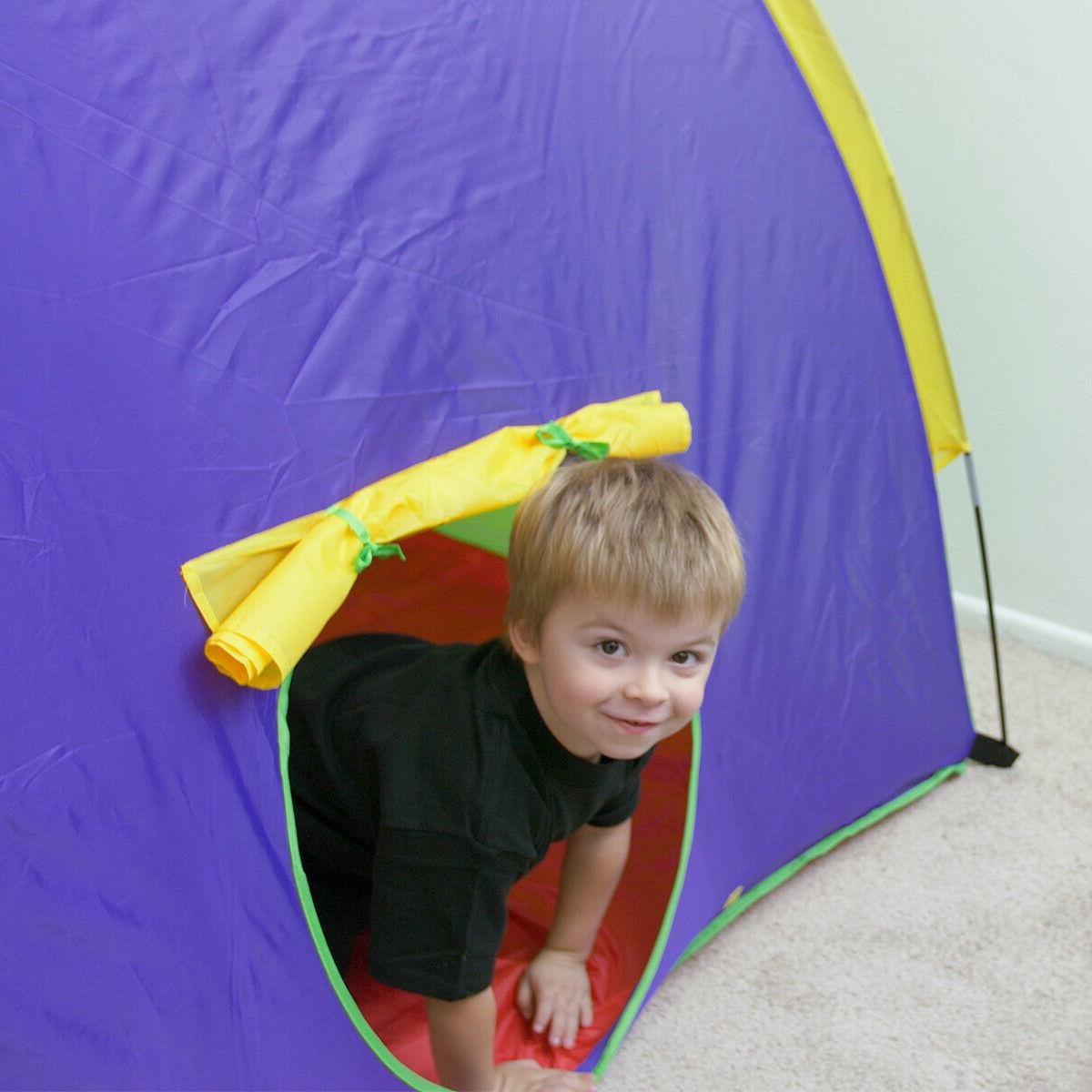 Kids Indoor Children Play Tent Girls
