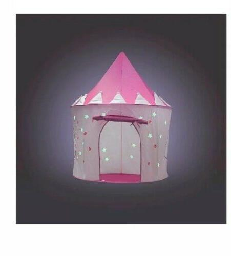Kids Plastic Playhouse Cottage Pink Children Indoor Outdoor