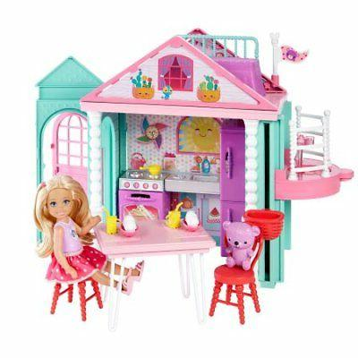 barbieclub chelsea playhouse playset model