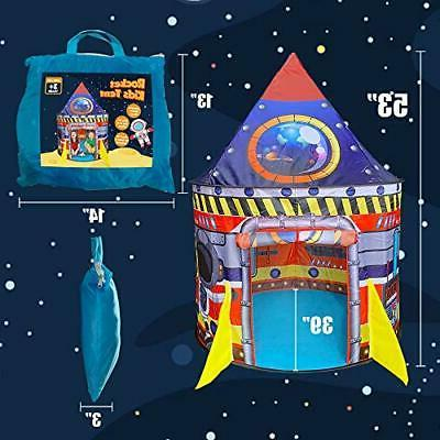 BESTPARTY Rocket for Kids Play Indoor Pop Up Convenientl