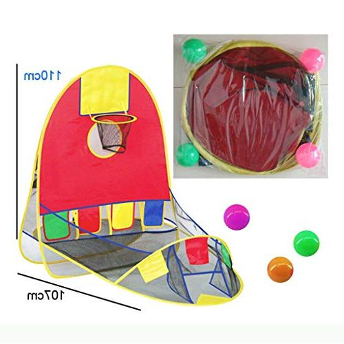 Botrong Tent Outdoor Indoor Shooting Play House Puzzle Toy House