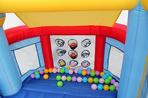 Bounce House Castle Inflatable Ball Pit With