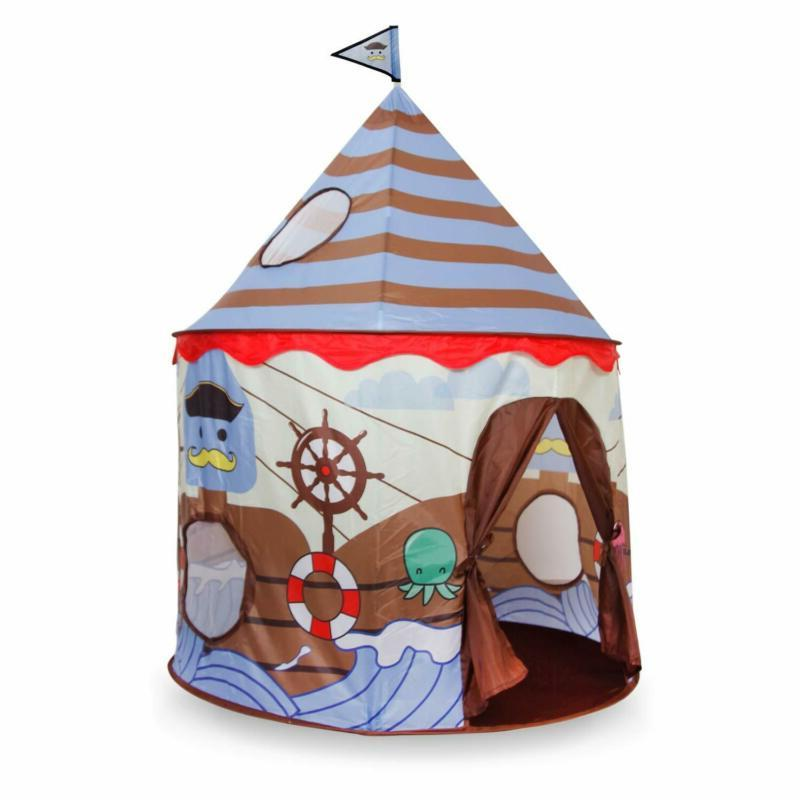 Alpika Castle Tent, Indoor Kids Playhouse With (Br