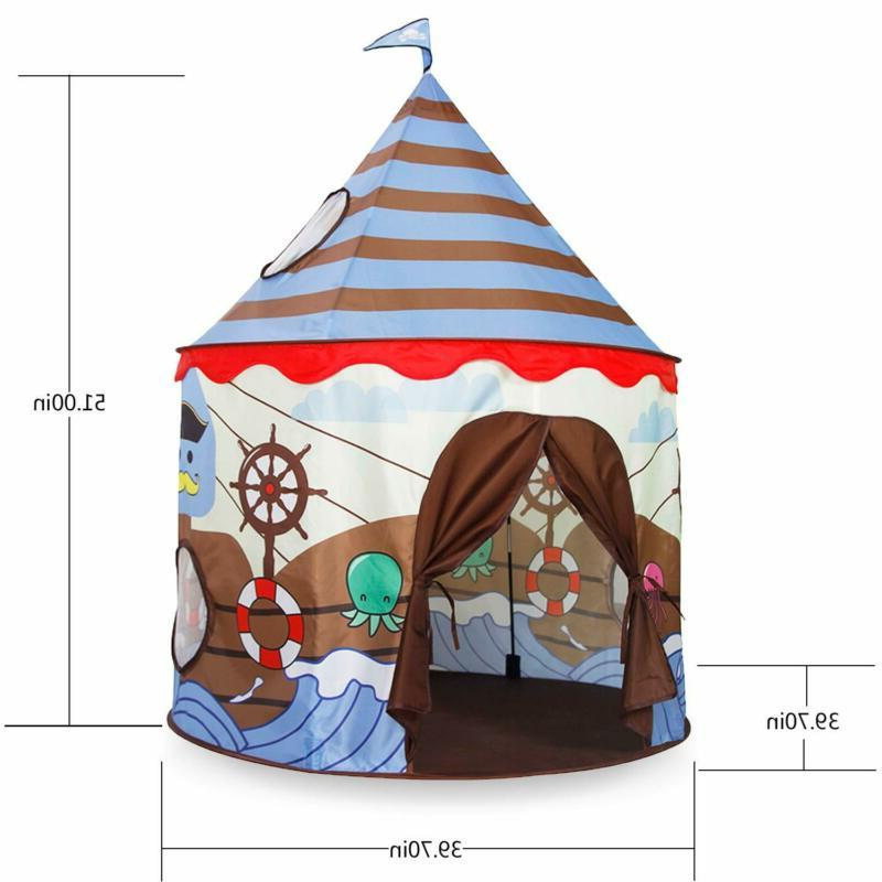Alpika Indoor And Outdoor Kids Playhouse With (Br