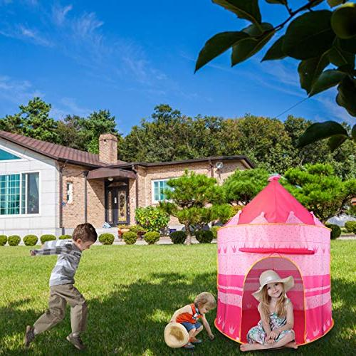 Castle Tent Tent Playhouse Outdoor Princess Castle Girls Toy for Boys Kindergarten Games for ,