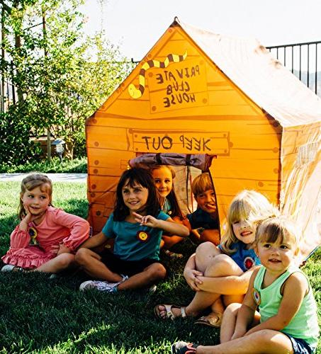 "Pacific Play Tents Club House Size, 50"" x"
