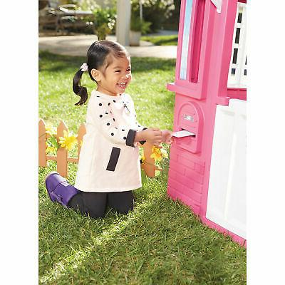 Contemporary Princess Indoor Outdoor Playhouse Pink