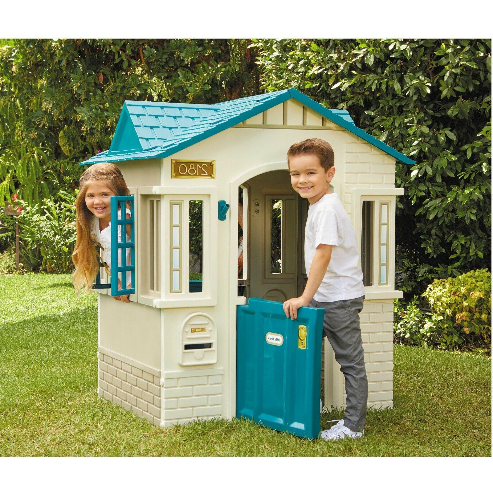 Cope Cottage Outdoor House Plastic Kids New Free