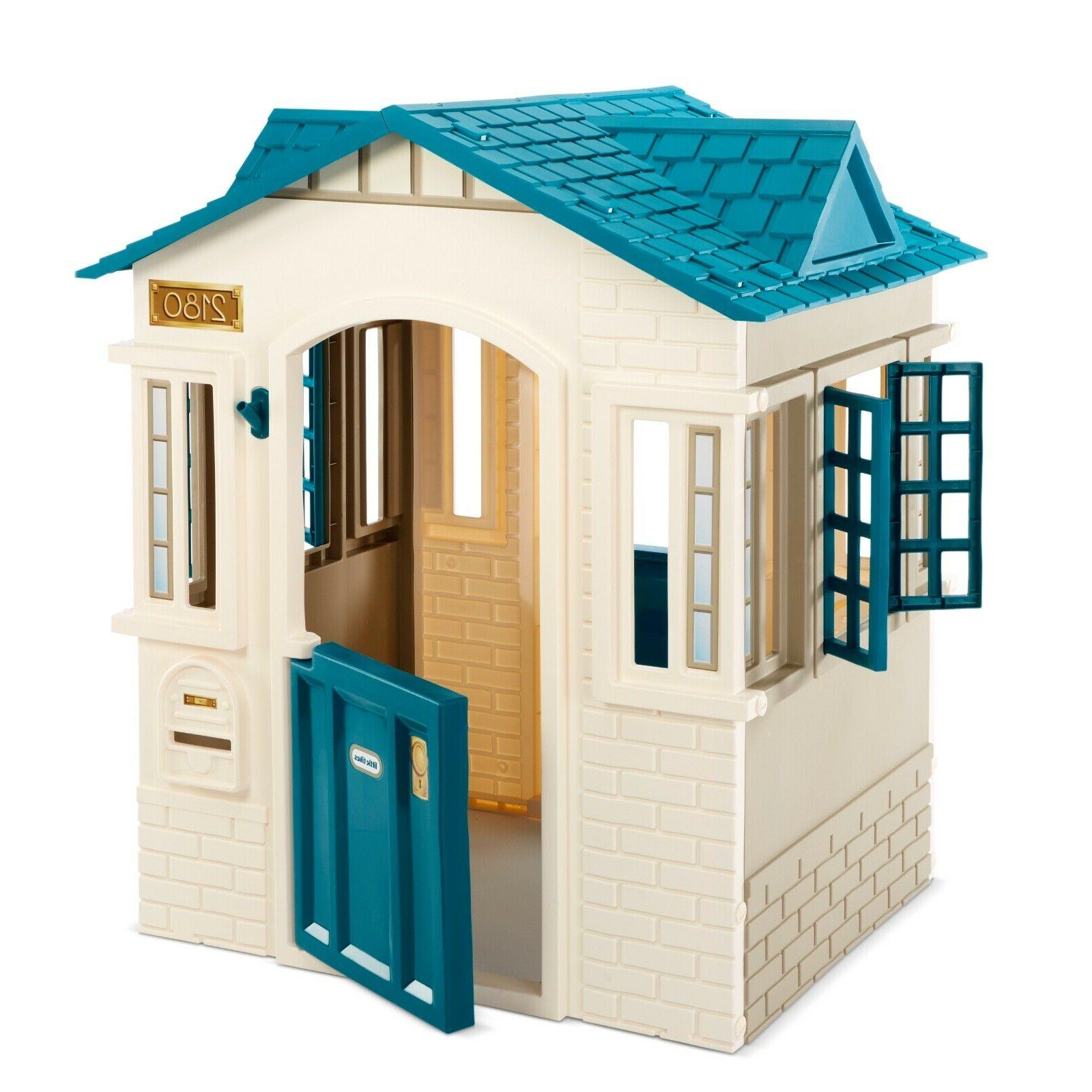 Cope Playhouse Patio Outdoor Plastic New Free
