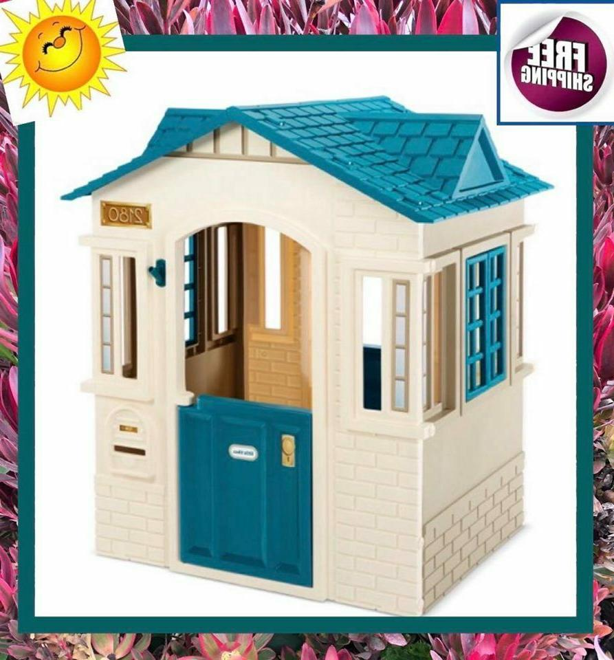 cope cottage playhouse patio outdoor play house