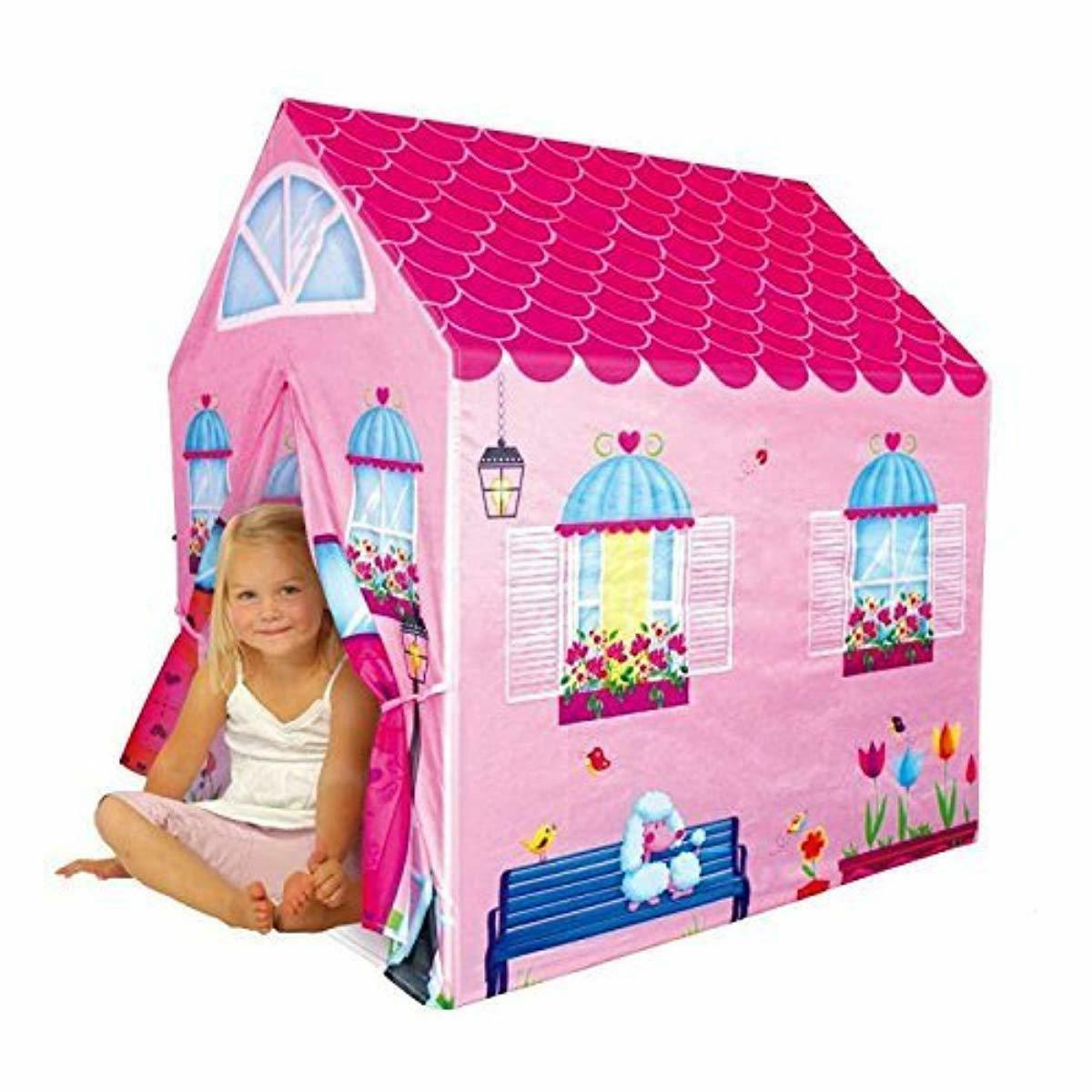 Cottage Playhouse House Kids Secret Pink Play NEW