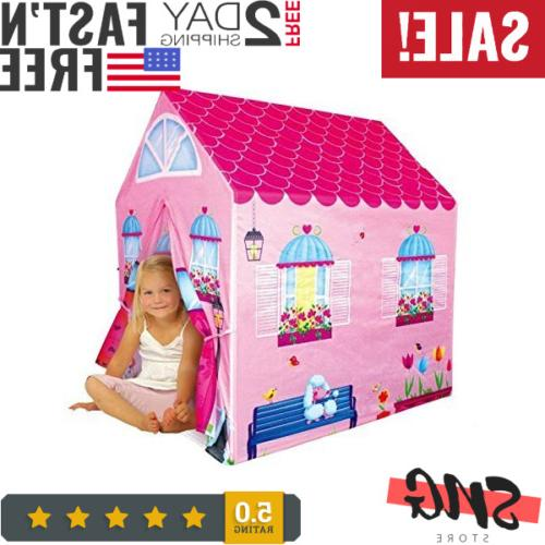 cottage playhouse girl city house kids secret