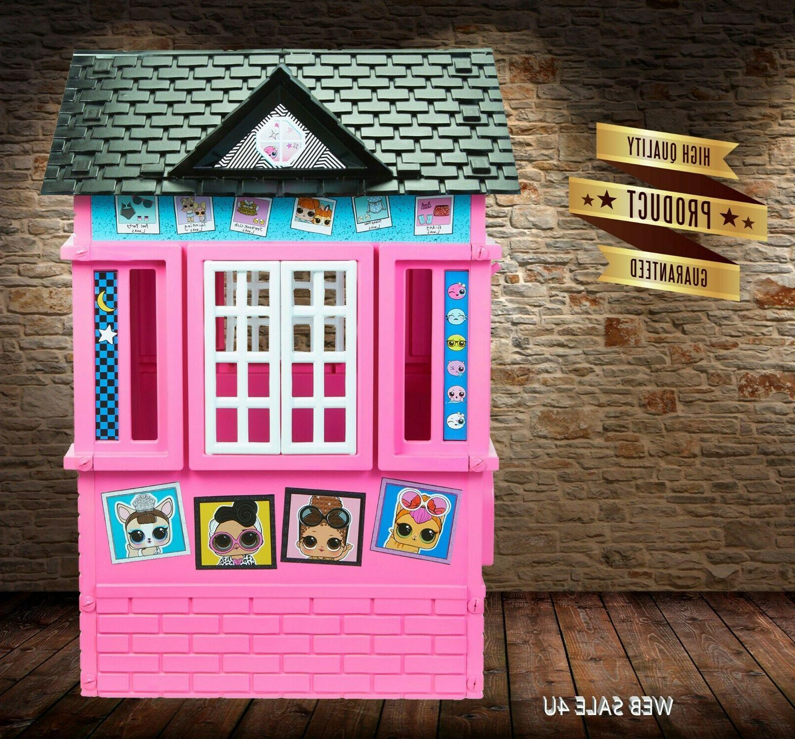 Deluxe Pink Indoor Large Cottage