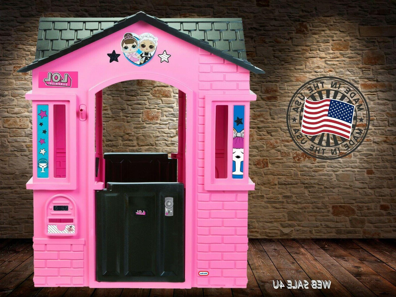 Deluxe Pink Indoor House Cottage Castle