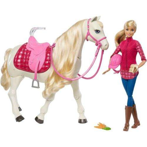 dream horse blonde doll