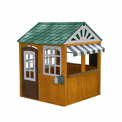 Easy Wooden Playhouse Kids House To