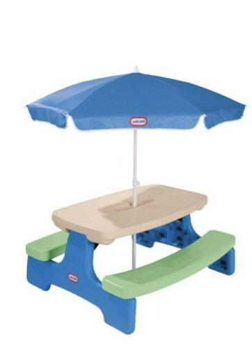 Little Tikes Easy Jr. Table Umbrella Picnic Table