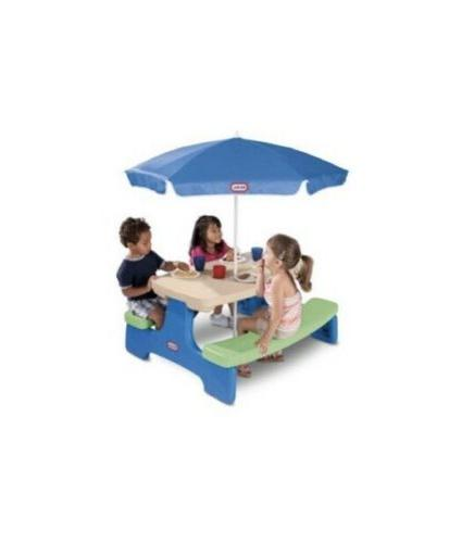 easy store jr play table with umbrella