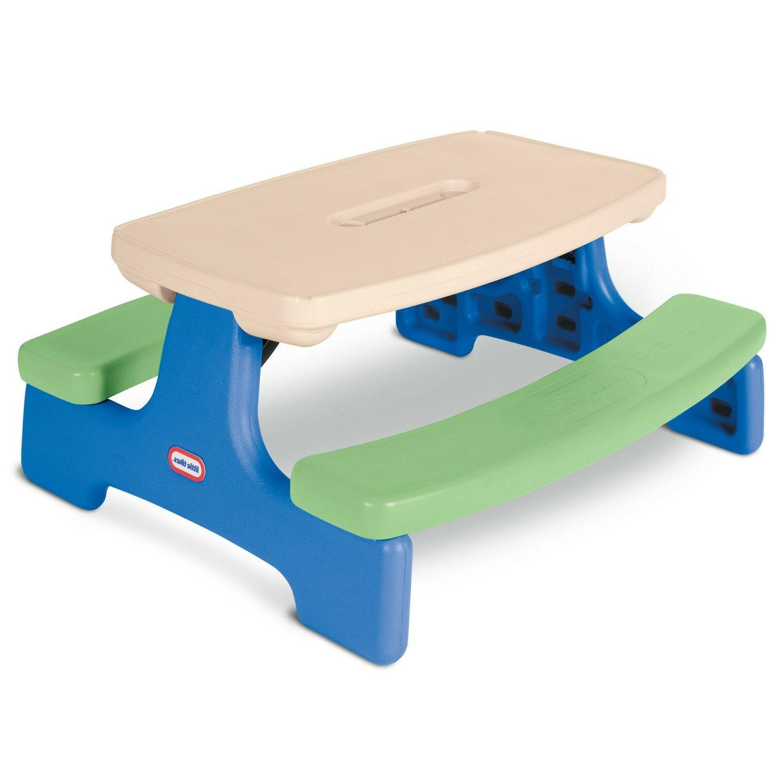 Little Easy Picnic Table & Jr. Play Holiday