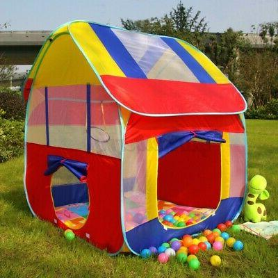 foldable children play tent outdoor lawn camping