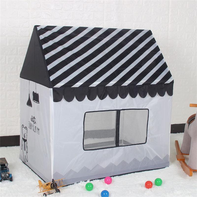 Foldable Portable Ball Simulation <font><b>Outdoor</b></font> Teepee Birthday Gifts Castle For Kids