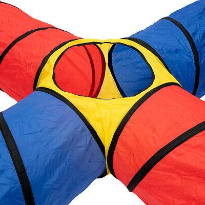 Folding Polyester Kids Tunnel