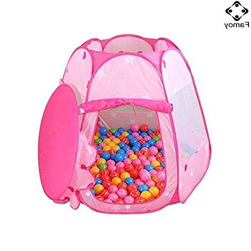 Pit Girls Indoor Outdoor to Years Toys, Up Play Bag Kids - Pink