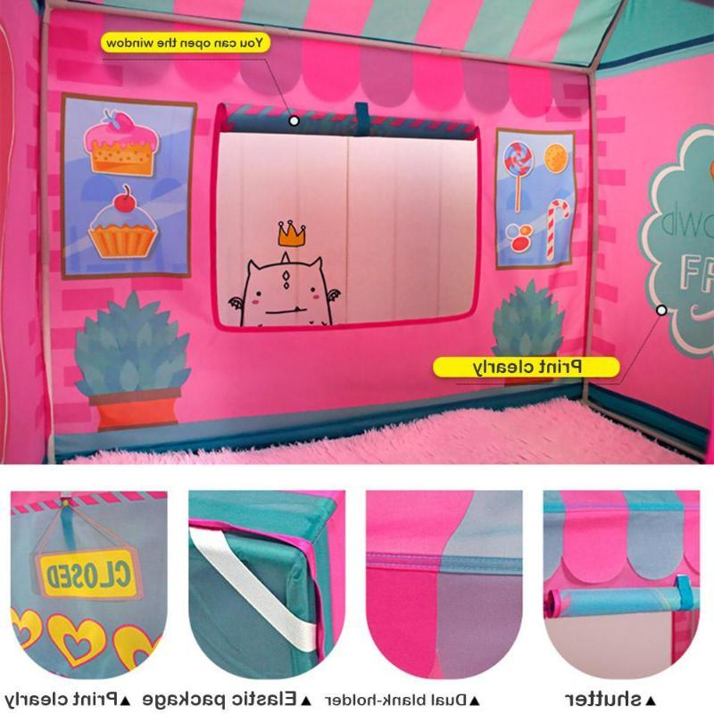 <font><b>Kids</b></font> House Play Pit <font><b>Playhouse</b></font> Pretended Toys Tents Princess for <font><b>Outdoor</b></font>