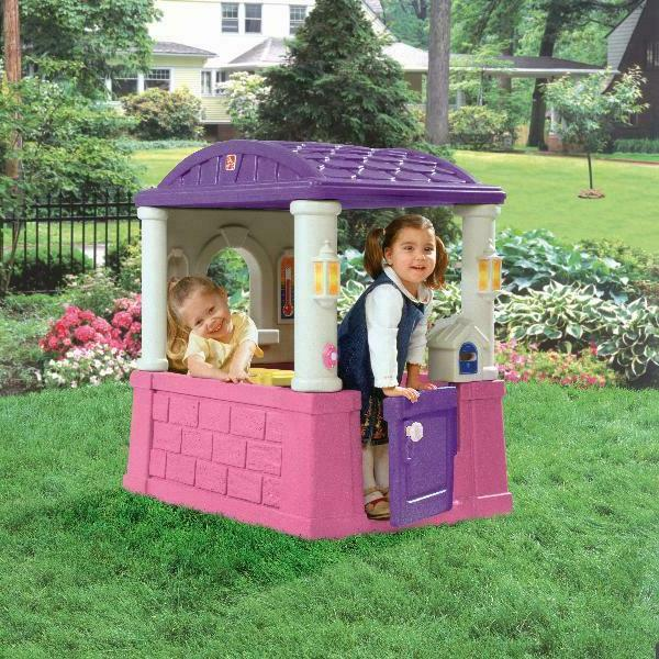Step2 Playhouse outdoor playset, Pink and