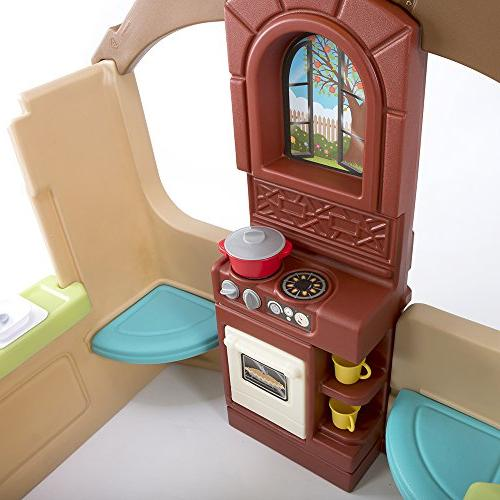 Simplay3 Kids Garden Playhouse Play Kitchen