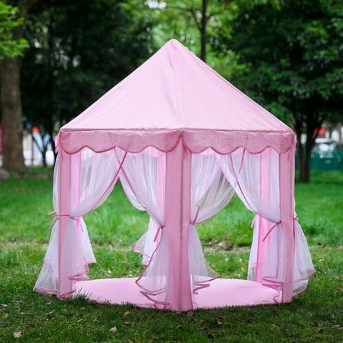 Princess Castle Large Indoor/Outdoor Play Tent !