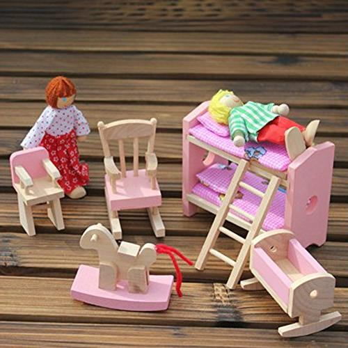 Goodfeng Doll Furniture for Kids Child Toy Play House Toy Puzzle