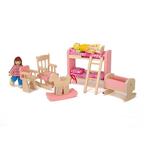Goodfeng Wooden Doll Furniture Kids Play Play House