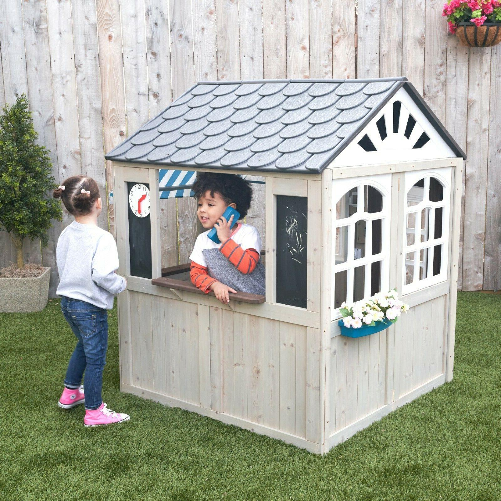 Hillcrest Wooden Playhouse by KidKraft