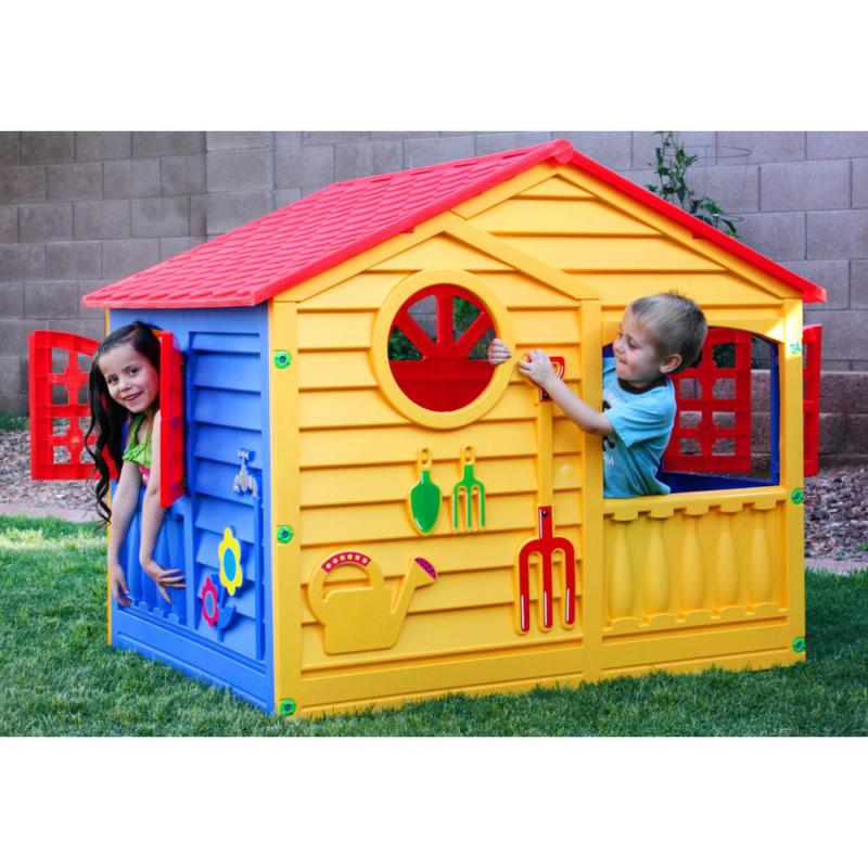PalPlay House Playhouse Yellow cottage OUTDOOR PLAY
