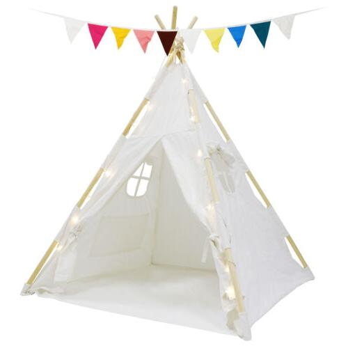Indian Play Tent Kids LED Lights