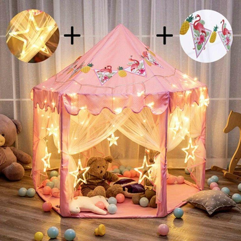 indoor princess castle play tent