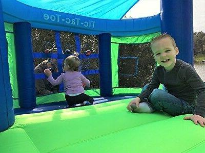 Inflatable Bounce Gym House Blow Up Set Blue