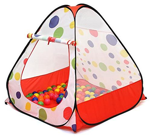 kiddey kids ball pit play tent  pops assembly required use i