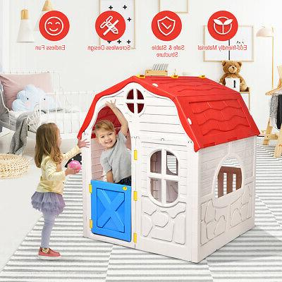 Kids House Foldable Portable Indoor Outdoor